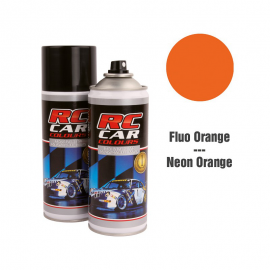 SPRAY RC CARS NARANJA FLUOR INTENSO