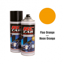 SPRAY RC CAR NARANJA FLUOR