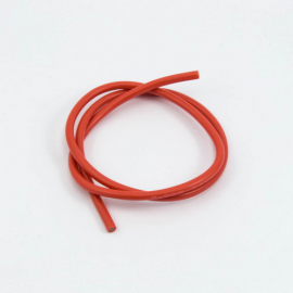 CABLE SILICONA ROJO 14awg (50cm)