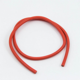 CABLE SILICONA ROJO 12awg (50cm)