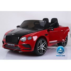 COCHE INFANTIL BENTLEY CONTINENTAL SUPERSPORTS 12V