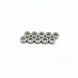 "5x10x4mm KIT RODAMIENTOS ""HS"" TAPAS METALICA (2U)"