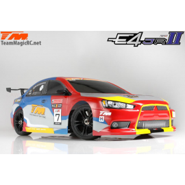 COCHE 1/10 TEAM MAGIC E4D MF DRIFT GRAFITO EVO