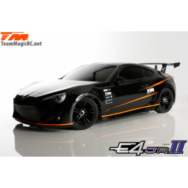 COCHE 1/10 TEAM MAGIC E4D MF DRIFT GRAFITO T86