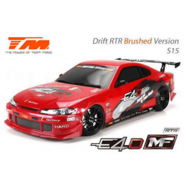 COCHE 1/10 TEAM MAGIC E4D MF DRIFT GRAFITO S15