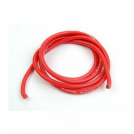 CABLE SILICONA ROJO 12 AWG 1M