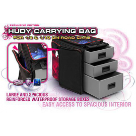 HUDY 1/10 & 1/8 CARRYING BAG + TOOL BAG - EXCLUSIV