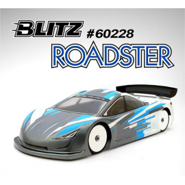 CARROCERIA 1/10 BLITZ ROADSTER 190MM 0.7MM