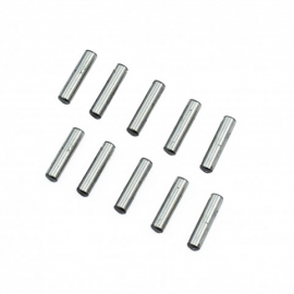 KIT PINS ACERO CROMADO 3X12.8MM(10) ULTIMATE