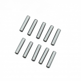 KIT PINS ACERO CROMADO 3X13.8MM ULTIMATE RACING