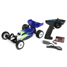 COCHE 1/16 LOSI MINI-B BRUSHED BUGGY RTR 2WD BLUE