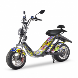 SCOOTER ELÉCT.E-THOR MATRICULABLE 2000W/20AH HIPHO